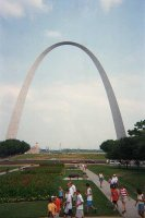 The magnificient Gateway Arch